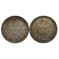 1 марка 1915 красивая патина, состояние!