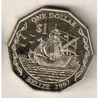 Белиз 1 доллар 2007