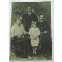 Фото семейное. До 1917г. Размер 8.8-13см
