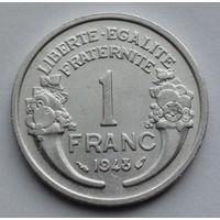 Франция 1 франк. 1948