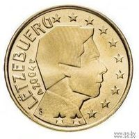 10 евроцентов 2004 Люксембург UNC из ролла