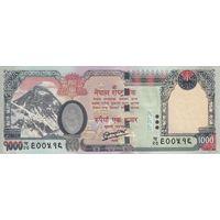 Непал 1000 рупий 2013 (UNC)