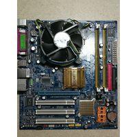 Процессор Intel Pentium4 631 + материнская плата GA-945GMZ-S2 + оперативная память