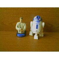 Фигурки Оби-Ван Кеноби (Obi-Wan Kenobi) и R2-D2 (Р2-Д2) Звездные войны (Star Wars)