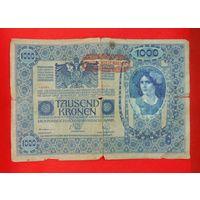 1000 крон Австро-Венгрия 1902 г.