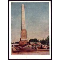 1959 год Сталинград Памятник героям