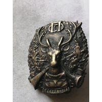 Нагрудный знак(Петроградского союза охотников) 20е года