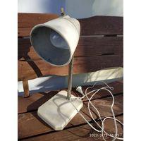 Лампа СССР, лофт- индустриальный стиль ,на мраморе.