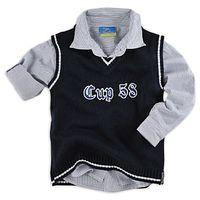 Фирменный комплект Рубашка и жилет .Произведено в Германии.Фирма Topolino.