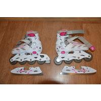 Комбинированные коньки (ледовые + роликовые) Tempish F21 DUO LADY для девочек