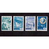 СССР-1959, (Заг.2267-2270)  * (сл. от накл.), Геофизическое сотрудничество