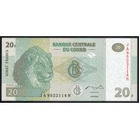 Конго / CONGO DEMOCRATIC REPUBLIC_30.06.2003_20 Franks_P#94.a_UNC