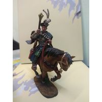 Солдатик оловянный(военно-истоическая миниатюра) конный гетман Речи Посполитой