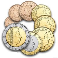 Люксембург годовой набор евро 2020 г UNC