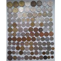 Иностранные монеты. 120 шт.