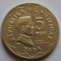 5 писо 2004 Филиппины