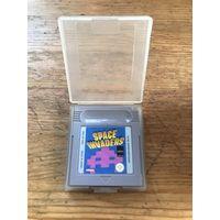 Оригинальный Space Invaders для Nintendo Game Boy с кейсом
