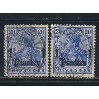 Германия Почта за рубежом Османская Имп (Турция) 1905 Надп #38а