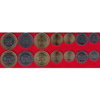 Центральная Африка набор 7 монет 2006 UNC