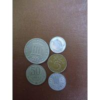 Пять монет/07 с рубля!