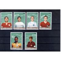 Футболисты  на марках Аджмана