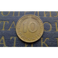 10 пфеннигов 1970 (D) Германия ФРГ #01