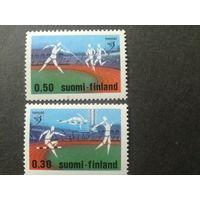 Финляндия 1971 спорт  полная серия