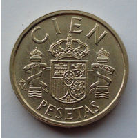 Испания 100 песет. 1984