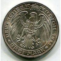 ПРУССИЯ - 3 МАРКИ 1911 БРЕСЛАУ
