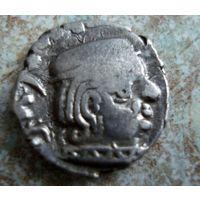 Древняя Индия. Государство (династия) Западные Каштрапы. Драхма I-IV век.