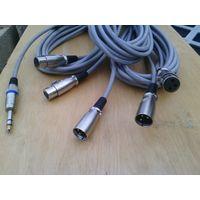 Провод микрофонный и для инструментов XLR / XLR / JACK