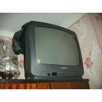 """Телевизор GoldStar 21"""" (54см) б/у с пультом (корейская сборка)"""