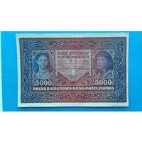 5000 марок 1919 года. Польша. Распродажа