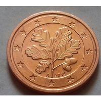 2 евроцента, Германия 2013 A, UNC