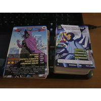 215 карточек по коллекциям|Человек паук|Черепашки-ниндзя|Трансформеры