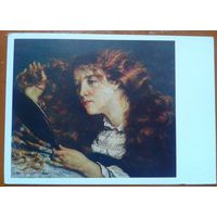 Густав Курбе.  Портрет Джо (Прекрасная ирландка)  1982 г.