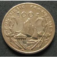 Фр. Полинезия 100 франков 1982