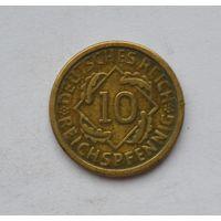 Германия 10 пфеннингов 1926 г.
