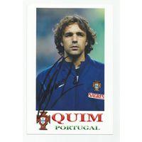 Quim(Португалия). Живой автограф на фотографии.