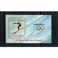 Гвинея - Бисау/1983/ Спорт / ХIV Зимние Олимпийские Игры / Сараево / Лыжи / Блок