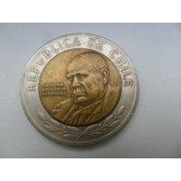 Чили 500 песо 2002 г.