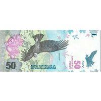 Аргентина.   50  песо  2018  года.   UNC