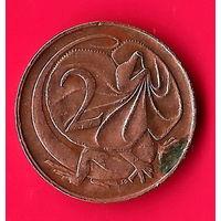 01-15 Австралия, 2 цента 1966 г.