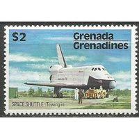 Гренада Гренадины.  Корабль Шатл. Успешное приземление. 1978г. Mi#259.