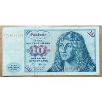 10 марок 1980 года - ФРГ (Р31d)