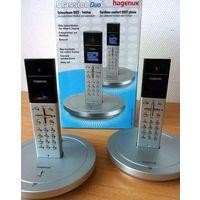 Элегантные DECT радиотелефоны Hagenuk с громкой связью