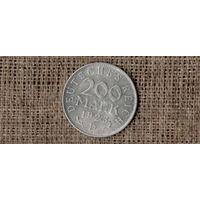Германия 200 МАРОК 1923 D  //(AR)