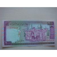 Иран 2000 риалов  1986-2005 г.
