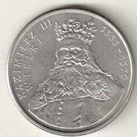 Польша 100 злотый 1987 Король Казимир III Великий