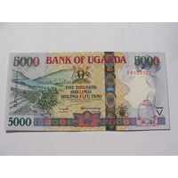 Уганда. 5000 шиллингов 2005 год UNC